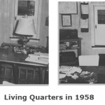 Living quarters in 1958